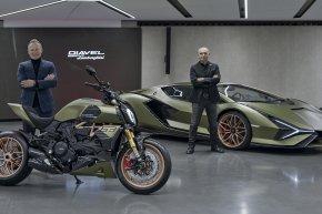 โปรเจ็คพิเศษ!! Lamborghini ร่วมมือ Ducati ผลิต Diavel 1260 S แรงบันดาลใจจาก Sián FKP 37
