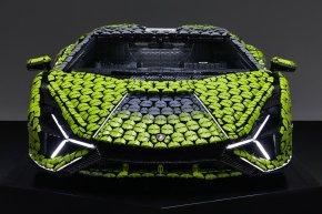 น่าเอาไปจอดที่บ้าน! LEGO Lamborghini Sián FKP 37 ขนาดเท่ารถคันจริงด้วยชิ้นงานกว่า 400,000 ชิ้น