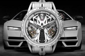 8 เรือนในโลก!! Roger Dubuis Excalibur Spider Countach DT/X นาฬิกาคู่บุญกระทิงดุ Countach LPI 800-4