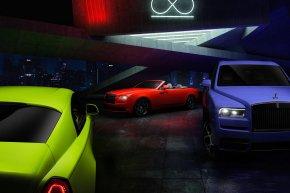 Rolls-Royce Black Badge สดใสกว่าเดิมด้วยคอลเลคชั่นใหม่ล่าสุด Neon Nights