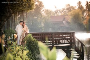 *+*+* งามอย่างไทยกับ pre-wedding@สวนสามพราน *+*+