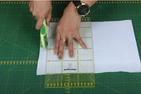 สาธิตอุปกรณ์ตัดผ้า น่าใช้งาน1