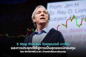 5 Step Process โดยคุณเรย์ ดาลิโอ และการประยุกต์ใช้สู่การเป็นสุดยอดนักลงทุน