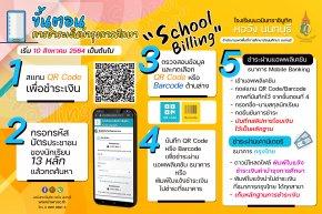 ขั้นตอนการใช้งาน school billing สำหรับชำระค่าบำรุงการศึกษา โรงเรียนวมินทราชินูทศ หอวัง นนทบุรี