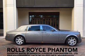 ROLLS ROYCE ให้เช่า บริการให้เช่ารถหรู ให้เช่าRollsRoyce Phantom by BANGKOKSUPERCARS