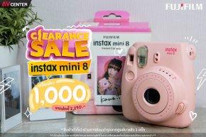 Clearance sale ล้างสต็อก ช็อกราคา !!! Fujifilm instax mini 8