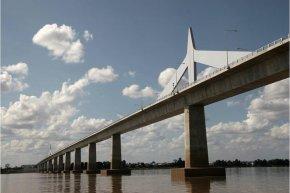 สะพานมิตรภาพ ไทย-ลาว แม่น้ำโขง เชียงของ แห่งที่ 4