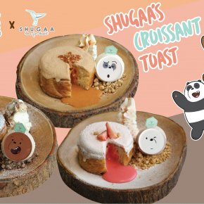 SHUGAA x We Bare Bears MENU!