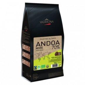 ช็อกโกแลตก็มีแบบ organic แล้ว - VALRHONA ANDOA NOIRE 70%