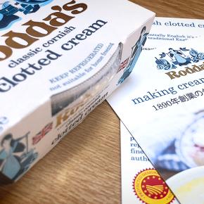 ทำไมครีมสโคนต้องเป็น Rodda's Clotted Cream พร้อมแจกสูตรครีมสโคน