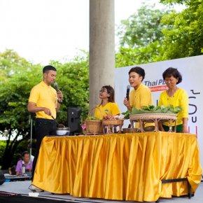 ภาพกิจกรรมวันเสาร์ที่ 7 ก.ค. 61. ThaiPBS เปิดพื้นที่แห่งการเรียนรู้ ตอน กินให้รู้..อยู่ให้เป็น