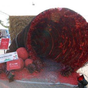 การประกวดแข่งขันจัดดอกไม้ และรถบุปผชาติ งานเทศกาลสีสันตะวันออก 2558