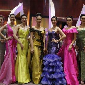 การแสดงแฟชั่นโชว์ผ้าไหมไทย งานไหมแห่งสยาม by Dino ขอนแก่น