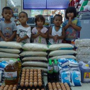 ข้าวสาร (อาหารแห้ง)……ร่วมแบ่งปันเพื่อเด็กและครอบครัวผู้ทุกข์ยาก