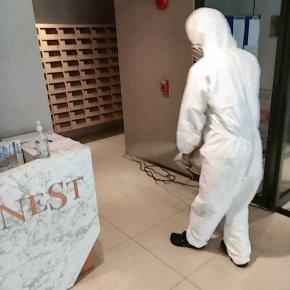บริการฉีดพ่นฆ่าเชื้อ - The Nest สุขุมวิท 64