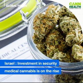 Israel: Investment in security for medical cannabis is on the rise
