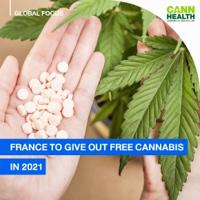 France to Give Out Free Cannabis in 2021
