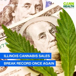 Illinois Cannabis Sales Break Record Once Again