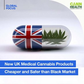 New UK medical cannabis products cheaper and safer than black market