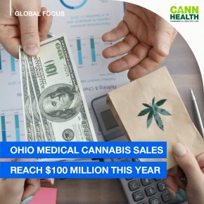 Ohio Medical Cannabis Sales Reach $100 Million This Year