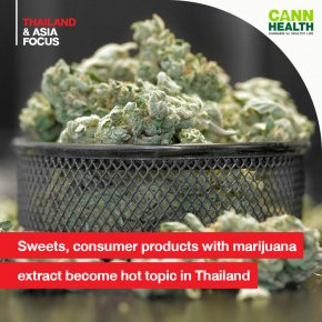 Sweets, consumer products with marijuana extract become hot topic in Thailand
