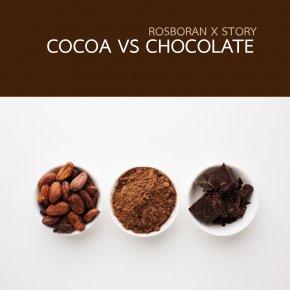 Cocoa vs Chocolate