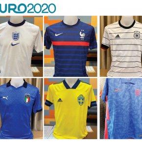 เสื้อบอล euro 2020