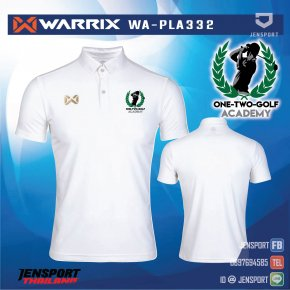 ONE-TWO-GOLF ACADEMY Warrix WAPLA332 สีขาว