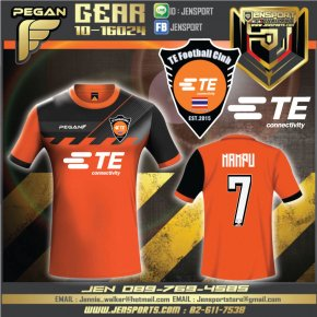 เสื้อ PEGAN GEAR ใหม่ กับทีม ETE Connectivity