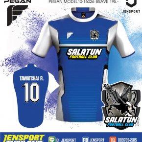เสื้อ PEGAN รุ่น Brave สีน้ำเงิน ทีมสลาตัน FC