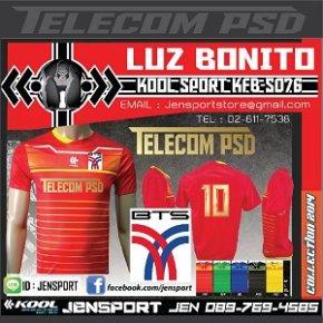 เสื้อทีม BTS TELECOM-PSD