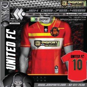 KOOL SPORT KFB-WS01 WAKKATA สีแดง ทีม UNITED FC 