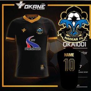 เสื้อฟุตบอล Marz สีดำทอง ทีม EXAT NADEAR FC