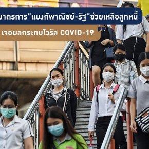 มาตรการช่วยเหลือลูกหนี้ จากเหตุการณ์ไวรัสโควิด-19 ของธนาคาร