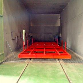 Cart for Blasting Room