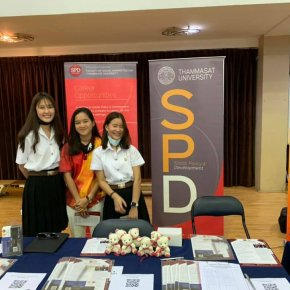 SPD Team at Ruamrudee International School Thai College Fair