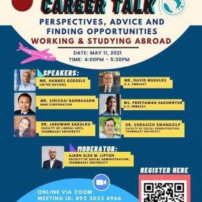 SPD Public Seminar, 11 May 2021, SPD Career Talk