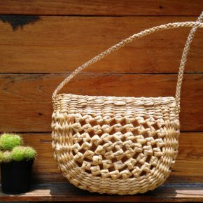 Wickerwork from Natural Wood