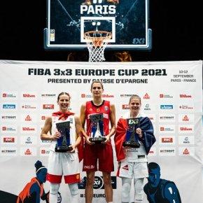 YGUERAVIDE ฉายแววได้ MVP โดย CAISSE D'EPARGNE ในรายการ FIBA 3X3 EUROPE CUP 2021