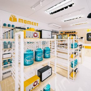 ออกแบบร้านออกแบบ 3D ร้าน MOMENT ร้านจำหน่ายกิ๊ฟช็อป @ เทสโก้โลตัส พัทยาใต้ จ.ชลบุรี