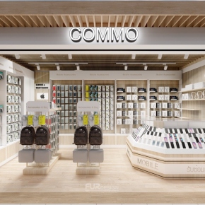 Design, manufacture and installation of stores: Commo Lotus Shop, Salaya, Nakhon Pathom
