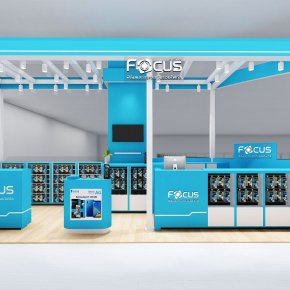 Design, manufacture and installation of stores: Focus Shop, Central Festival Department Store, Chiang Mai