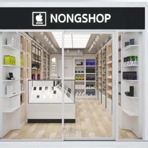 Design, manufacture and installation of stores: SP Telecom Shop, Hot District, Chiang Mai Province(copy)(copy)(copy)(copy)