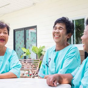 ความสะอาดของสถานที่ดูแลและผู้สูงอายุที่ป่วยติดเตียง