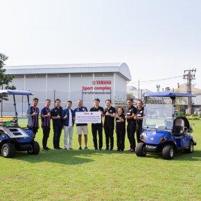 ยามาฮ่ามอบ Ambulance Golf Car 2 คัน สนับสนุนสโมสรบุรีรัมย์ ยูไนเต็ด
