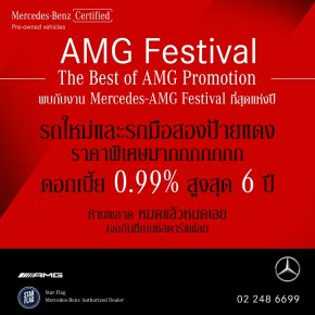 Benz Star Flag: Mercedes-AMG Festival