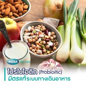 โปรไบโอติก (Probiotic) มิตรแท้ระบบทางเดินอาหาร