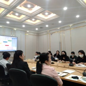 ประชุมคณะกรรมการดำเนินงานสถาบันวิจัยและพัฒนา ครั้งที่ 6(51)/2563