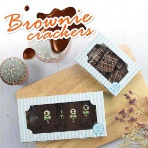 สูตร บราวนี่กรอบ (Brownie Crackers)
