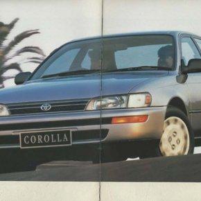 แบตเตอรี่ Toyota Corolla แบตหมด